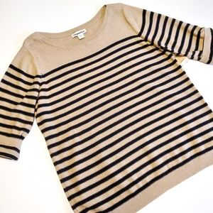 Coldwater Creek striped sweater size large